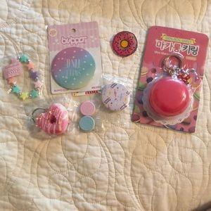 Kawaii sweet trinkets.